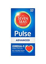 Pulse Advanced Omega-3 Pure Fish Oils with Vitamin E - 120 capsules
