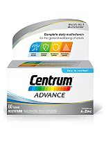Centrum Advanced Multivitamins - 60 Tablets