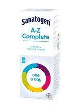Sanatogen A-Z Complete - 90 Tablets