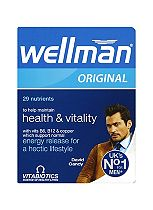 Vitabiotics Wellman Original Tablets - 30