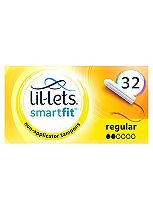 Lil-Lets Non-Applicator Tampons Regular 32 Pack