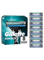 Gillette Mach 3  Replacement Razor Blades - 8 Pack