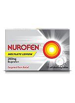 Nurofen Meltlets Lemon - 12 Tablets