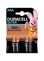 Duracell Ultra Power AAA Alkaline Batteries - 4x pack
