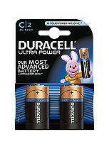 Duracell Ultra Power C-Battery Alkaline - 2x Pack