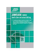 Boots Jointlieve Devils Claw Root Extract 600mg - 40 Tablets
