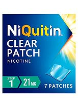 NiQuitin CQ 24 Hour Clear Patches - Step 1