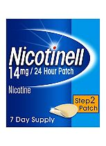 Nicotinell 24 Hour Patch 14mg Step 2 7 Day Supply