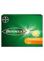 Berocca Orange  - 45 effervescent tablets