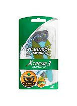 Wilkinson Sword Xtreme 3 Disposable Razors- Sensitive 4 Pack