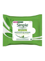 Simple Kind To Skin Exfoliating Facial Wipes 25