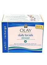 Olay Daily Facials Cleansing Cloths Refill Pack Sensitive 30s