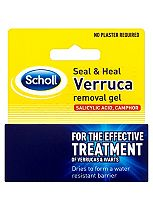 Scholl Seal and Heal Verruca removal gel- 5ml