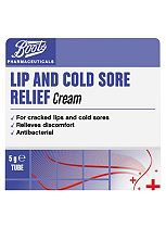 Boots Lip and Cold Sore Relief Cream - 5g