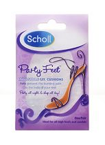 Scholl Party Feet Invisible Gel Cushions - 1 Pair