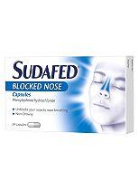 Sudafed Blocked Nose Capsules (24 Capsules)