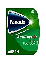 Panadol ActiFast  - 14 Tablets