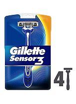 Gillette Sensor 3 Disposable Razors 4 Pack