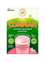 Complan Strawberry Flavour Nutritional Drink 4 x 55g