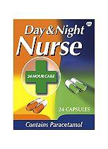Day & Night Nurse Capsules - 24 Pack
