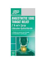 Boots Anaesthetic Sore Throat Relief Spray