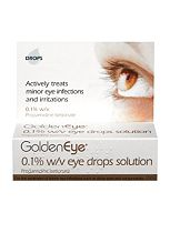 GoldenEye 0.1% w/v Eye Drops Solution - 10ml