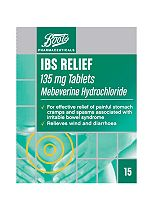 Boots IBS Relief 135mg Tablets - 15 Tablets