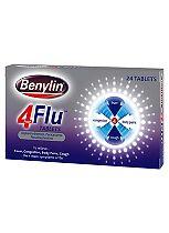 Benylin 4 Flu, 24 Tablets