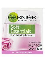 Garnier Skin Naturals Soft Essentials 24hr Nourishing Day Cream 50ml