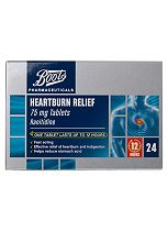 Boots  Heartburn Relief Tablets - 24