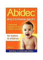 Abidec Multivitamin Drops for Babies & Children 25ml