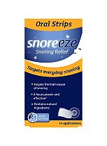 Snoreeze Snoring Relief Oral Strips - 14 Applications