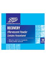 Boots Pharmaceuticals Recovery  Effervescent Powder - 10 Sachets