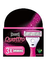 Wilkinson Sword Quattro for Women Replacement Blades 3s