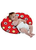 Perfectly Happy People Widgey Nursing Pillow - Fossil Red