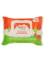 Vital Baby Super Soft Fruity Hand & Face Wipes - 1 x 30 Pack Wipes
