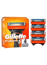 Gillette Fusion Blades 4 Pack