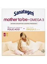 Sanatogen Mother to Be 30 Tablets and Sanatogen Omega 3  30 Capsules