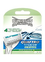 Wilkinson Sword Quattro Titanium Replacement Blades 8 Pack