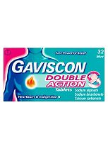 Gaviscon Double Action Mint - 32 Tablets