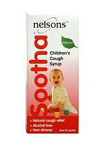 Nelsons Sootha Children's Cough Syrup - 150 ml