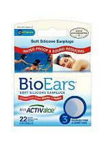 BioEars Soft Silicone Earplugs - 3 pairs