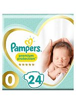 Pampers Micro New Baby Nappies Carry Pack - 1 x 24 Nappies