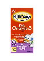 Haliborange Omega-3 Blackcurrant Chews for Kids 90Caps