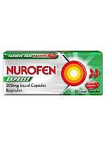 Nurofen Express 200mg Liquid Capsules - 30 liquid capsules