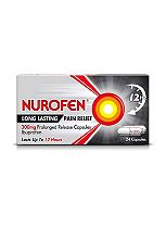 Nurofen Back Pain 300g Sustained Release Capsules - 24 Pack