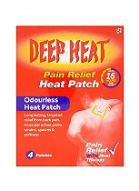 Deep Heat Pain Relief Heat Patch - 4 patches