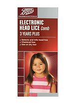 Boots Electronic Head lice Comb 3 Years Plus
