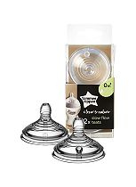 Tommee Tippee Closer to Nature Easi-vent Slow Flow Teats 0M+