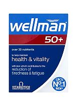 Vitabiotics Wellman 50+ 30 One-a-Day Tablets